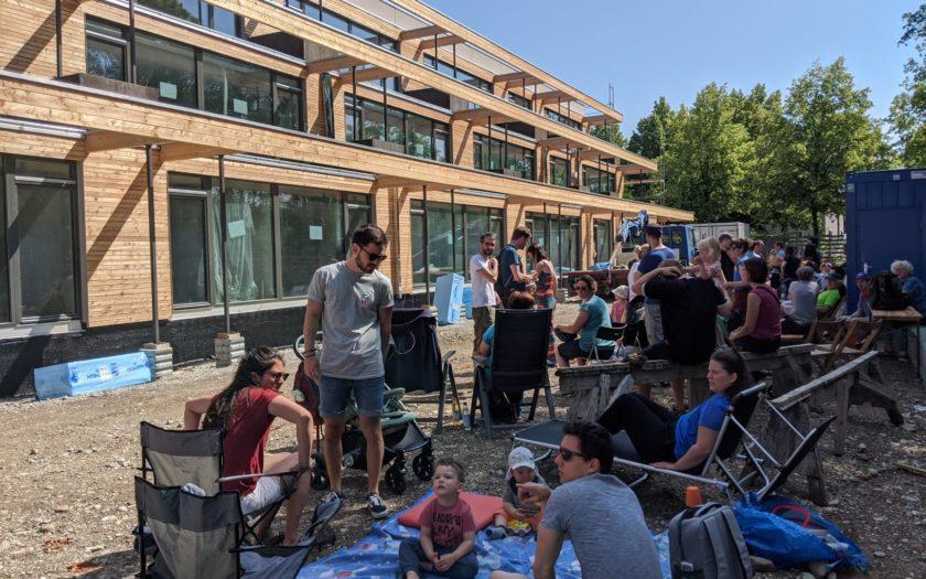 StadtNatur-Workshop Sommer 2020 auf der Baustelle